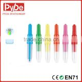 Blow color pen with brush tip marker water color ink for kids painting