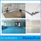 100% recyclable floor protection double wall plastic sheet