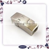 Stainless Steel 6mm Magnetic Clasp for Leather Jewelry Making