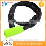 Fashion And Trendy Bicycle Folding Cable Bike Chain Locks with bag