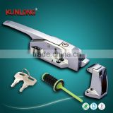 SK1-1178S Manufacturer stainless steel refrigerator handle /cold room door handle latch                                                                                                         Supplier's Choice