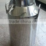 Stainless steel milk transport tank