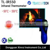 Hot sale High-accuracy food Infrared Thermometer non-contact temperature meter with large LCD TL-IR550