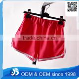 Customized Ladies Summer Flexible 100% Cotton Yoga Shorts