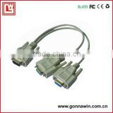 vga to 2vga y cable splitter cable