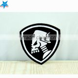 Custom self-adhesive embroidery mini textile patches,wool embroidery patches,embroidery gun patch