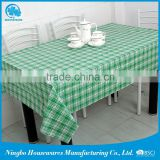 china supplier PVC water resistant tablecloth
