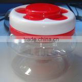 Plastic pet plastic cookie jar honey jar