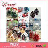 PRZY 3D silicone mold Christmas silicone mold Christmas gift silicone Candles and soap mold