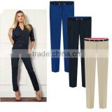 New Fashion Stylish Women's Lady OL Slim Fit Dress Pants Pencil Jeans Trousers L1057