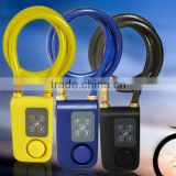 Bicycle lock electric vehicle lock waterproof outdoor electronic password lock the door lock