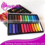 Wholesale 24 Colors Non-toxic Temporary Hair Dye Color Chalk Hair Color