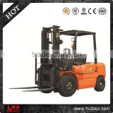 Automatic 3000 Kgs Diesel Engine Forklift Truck For Warehouse Material Handing Equipment