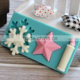 2015 New Hot Selling Christmas Decoration Silicone Chocolate Molds, Baking Supplies