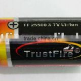 TrustFire wholesale 25500 4000mAh 3.7v high capacity li ion battery rc car accumulator/battery rechargeable factory