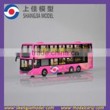 1:43 Double Decker Bus model,die cast scale double decker, bus model manufacturer