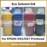 Guangzhou Ink Factory supply dx5 and dx7 printhead Eco Solvent Printer Digital Printing Ink