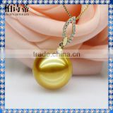 100% 18K pure yellow gold pendant