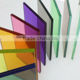 Clear lamionated glass/tinted laminated glass/Tempered Laminated Glass/color PVB laminated glass with 4.38mm-40mm