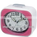 pink square alarm clock,table clock