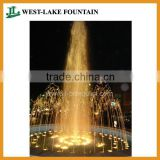 LED Lighting Small Pool Water Dancing Fountain for a garden square of Tehran, Iran