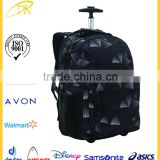 "15.6"" Laptop Trolley Back Pack for School, Customized Cheap Trolley Backpack with Wheels"