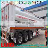 hydraulic cng trailer daughter station 25MPa fuel tanker trailer , container transport semi trailer