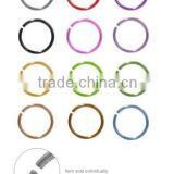 Anodized Titanium Nose Hoop Rings Body piercing Jewelry