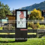 EKAA 65 inch outdoor IP65 LCD commercial advertising display screen