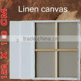 120x150cm high-grade professional large stretched canvas for oil paint and acrylic paint