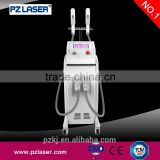 SHR Portable 4 in 1 Multifunctional Machine Medical CE Approved Factory SHR /OPT/ IPL+Elight+ RF +Laser