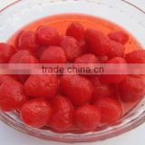 New crop Sweet Canned strawberry in Light Syrup, Canned strawberries fruit, Canned fruits