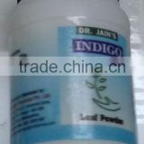 Indigo Powder :: Dr. Jain's Indigo Powder :: 50 Gram Jar :: Indigofera Tinctoria :: Hair Color :: Leaf Powder