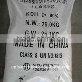 manufacturer of potassium hydroxide flakes