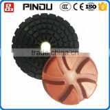 7 inch dry diamond sponge polishing pad for granite and marble