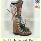 Hot sale Realistic PU luts ball jointed dolls boots