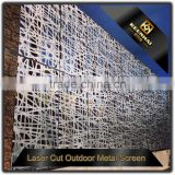 INQUIRY ABOUT Powder Coated Laser Cutting Aluminium Decorative Wall Panel Outdoor