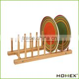 Eco-Friendly Bamboo Kitchen Dish /Plate/Bowl/Cup Drying Rack Stand Drainer Storage Holder Organizer/Homex_Factory