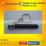 2014 mini pencil tire pressure gauge with keychain
