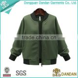 Wholesale printing lables healthy cotton woman sports baseball jacket