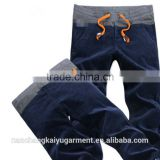 Baggy Chef Hip Hop Dance Pants Mens Cargo Pants with Side Pockets
