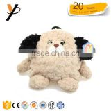 2017 wholesale Alibaba baby plush animal kids barking dog bag backpack