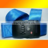 Top grade polyester luggage belt, TSA Custom-accepted