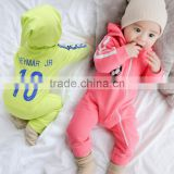 Baby clothes wholesale girl boy long sleeve cotton brand romper for 2017 fall winter