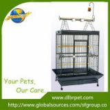 Opening Playtop power steel large parrot cage with toys,factory supply,OEM is welcome.