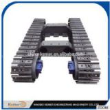 steel tracked undercarriage/ crawler chassis/undercarriage/ chassis/ crawler