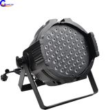Aluminium 54pcs 3W RGBA LED Par Can Light PRO Multi functional Stage DMX Decoration Lighting