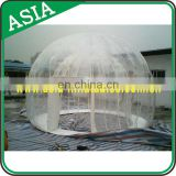 Professional Customized Top Quality Practical Igloo Inflatable Clear Tent / Favorable Price Outdoor Inflatable Lawn Tent