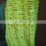 Marigold garland artificial flower party decoration