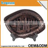 New York Custom new products art craft Souvenir Metal Plate